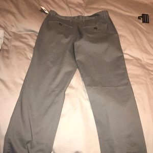 Gap new with tags men's grey khakis